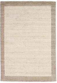 Handloom Frame - Natural/Sand Tapis 160X230 Moderne Beige/Gris Clair (Laine, Inde)