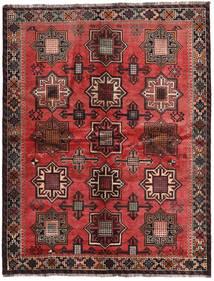 Ghashghaï Signé: Kadamali Year 1374 (1995) Tapis 167X213 D'orient Fait Main Noir/Marron Foncé (Laine, Perse/Iran)