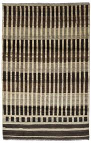 Moroccan Berber - Afghanistan Tapis 116X181 Moderne Fait Main Marron Foncé/Marron Clair (Laine, Afghanistan)