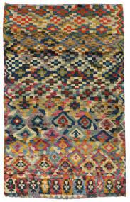 Moroccan Berber - Afghanistan Tapis 117X182 Moderne Fait Main Gris Foncé/Gris Clair (Laine, Afghanistan)