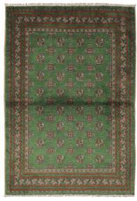 Afghan Tapis 105X150 D'orient Fait Main Noir/Vert Foncé (Laine, Afghanistan)