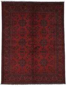 Afghan Khal Mohammadi Tapis 150X192 D'orient Fait Main Noir (Laine, Afghanistan)
