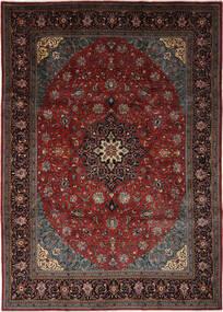 Sarough Tapis 240X326 D'orient Fait Main Noir/Marron Foncé (Laine, Perse/Iran)