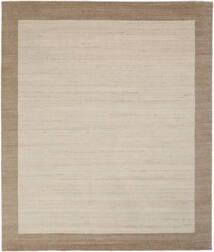 Handloom Frame - Natural/Sand Tapis 250X300 Moderne Marron Clair/Gris Clair/Marron Foncé Grand (Laine, Inde)
