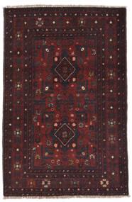 Afghan Khal Mohammadi Tapis 77X122 D'orient Fait Main Noir (Laine, Afghanistan)