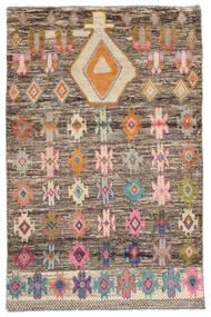 Moroccan Berber - Afghanistan Tapis 118X180 Moderne Fait Main Marron Foncé (Laine, Afghanistan)
