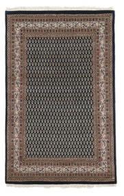 Mir Indo Tapis 114X180 D'orient Fait Main Noir/Marron Foncé (Laine, Inde)