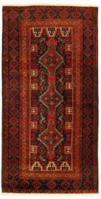 Baloutche Tapis 96X193 D'orient Fait Main (Laine, Perse/Iran)